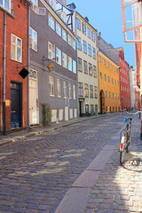 """Magstraede"" Copenhagen's oldest street-16th Century"