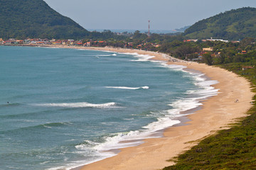 Armacao Beach in Florianopolis - Brazil