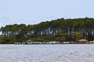 Costa da lagoa boat cross