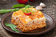 Classic Lasagna with bolognese sauce - 68024709