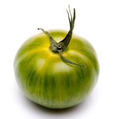 Green fresh tomato