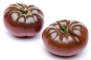 Fresh purple tomatoes