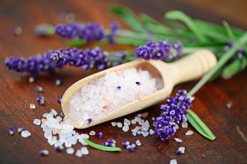 Lavendel ,Salz