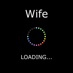 LOADING Illustration - Wife