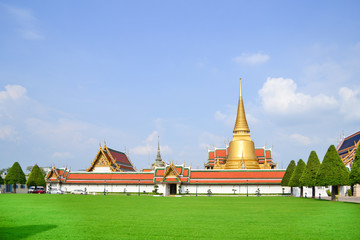 Landscape Temple of the Emerald Buddha (Wat Phra Kaew)