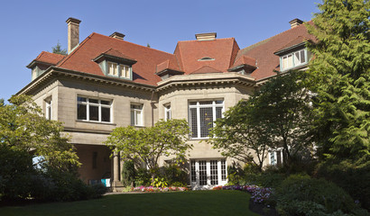 Pittock Mansion estate Portland Oregon.