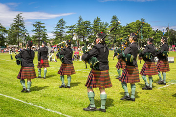Highland Games #3 - Piper band, Scotland