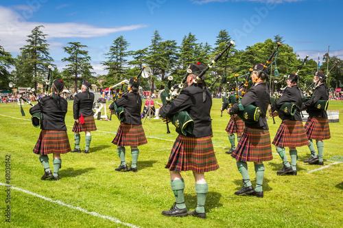 Highland Games #3 - Piper band, Scotland - 68030142