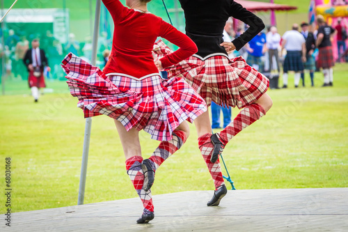 Fotobehang Dance School Highland Games #6 - Céilidh, Scotland