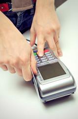 Credit Card Terminal Machine