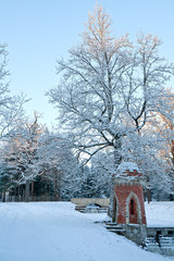Winter in the Catherine Park