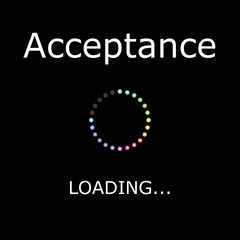 LOADING Illustration - Acceptance