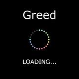 LOADING Illustration - Greed poster