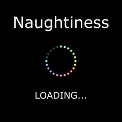 LOADING Illustration - Naughtiness