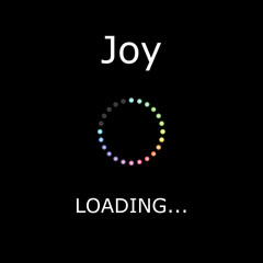 LOADING Illustration - Joy