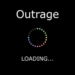LOADING Illustration - Outrage