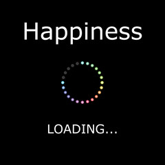 LOADING Illustration - Happiness