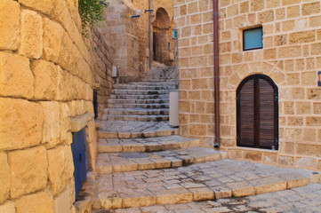 Tel Aviv Jaffa, Alley of an old town