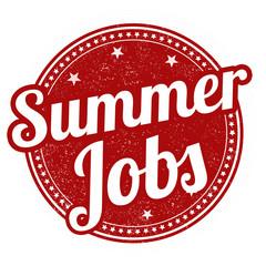 Summer jobs stamp
