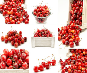 Collage de cerezas