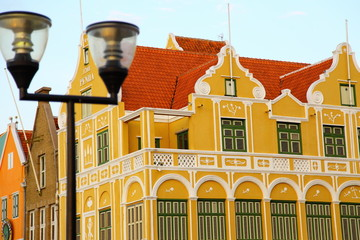 Holländisches Haus auf Curacao