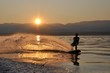 sunset wakeboard