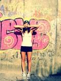 Fototapety HipHop Girl