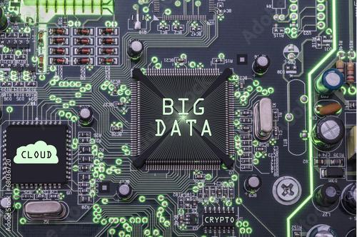 canvas print picture Big Data