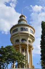 Cisterna per l'acqua, isola Margherita, Budapest.