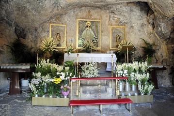 Ermita de la Virgen de la Pena altar Mijas