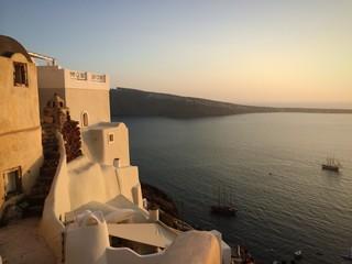 il tramonto a Oia