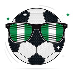soccer party: nigeria