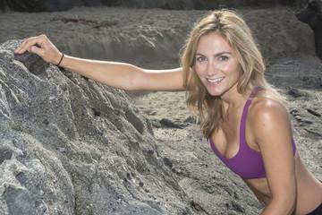 Woman Rock Climber