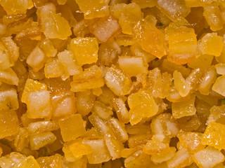 candied orange citrus peel