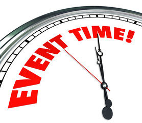Event Time Reminder Clock Countdown Deadline