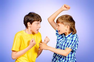 quarreled boys