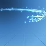 Fototapety Cable bandwidth flaring electric background