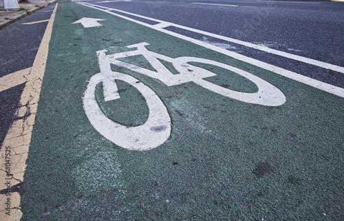 Bicycle Pavement - 68047525
