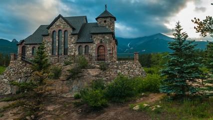 Chapel on the Rock, Allenspark Colorado Time-lapse