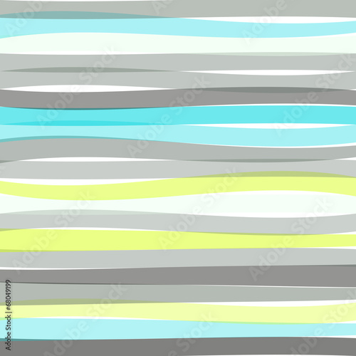 Seamless colorful striped wave background © karandaev