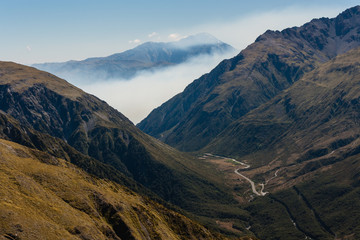 inversion above Arthur's Pass