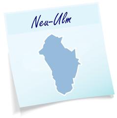 Neu-Ulm als Notizzettel