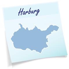Harburg als Notizzettel