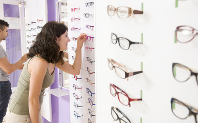 Choosing glasses