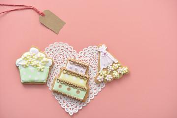 クッキー アイシングクッキー 結婚式