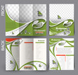 Set of Restaurant & Hotel Flyer & Tri-Fold Brochure Design
