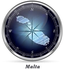 Malta mit Grenzen