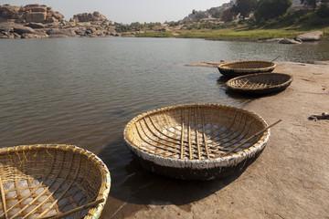 Hampi boats