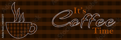 Its Coffee Time Banner
