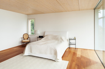 modern architecture, interior, bedroom